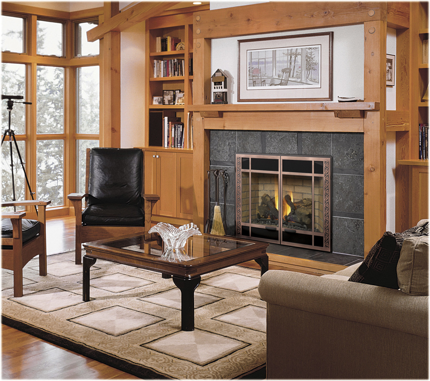 Fireplace Glass Fire Place
