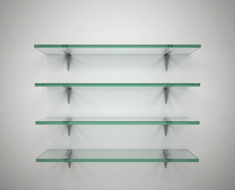 glass shelves - Bathroom Glass Shelves
