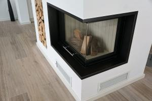 Fireplace Glass - Wood Burn Place