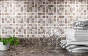 ceramic glass backsplash