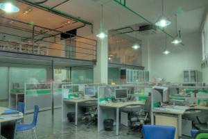 tempered glass office dividers