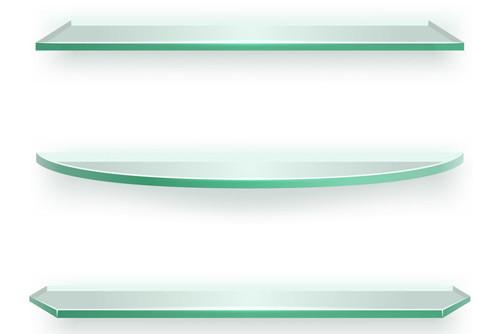 "Round Shatterproof Plate Glass Pane 8-1//2/"" x 1//8/"" Laminated Safety"