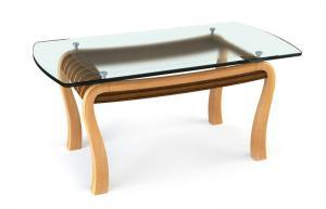 stylish tempered glass table top