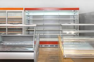 customized glass shelves