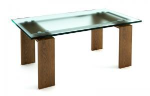 modern glass table top