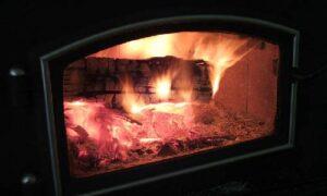 woodstove glass